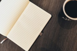 The good old notebook. Image via Pixabay.