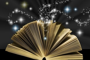 Books can be magical, regardless of what genre they actually are. Image via Pixabay.