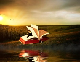Escape with a good book. Image via Pixabay