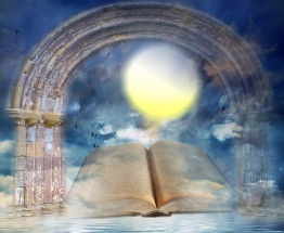 Fiction or not, books are the gateways to other worlds. Image via Pixabay.