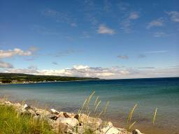 Glorious Golspie on the Far North coast of Scotland, image by me.