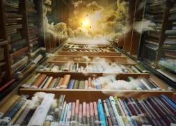 Heavenly books. Image by Pixabay