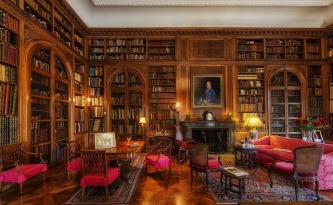 Love this library. Mine is somewhat smaller than this! Image via Pixabay.