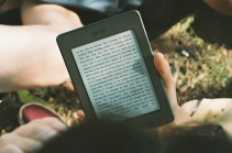 The modern way to read - the Kindle. Image via Pixabay.