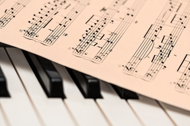Classical Music score. Image via Pixabay.