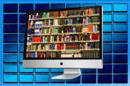 The virtual library. These days ebooks and emagazines are available at libraries. Chandler's Ford library are running surgeries about them. Image via Pixabay.