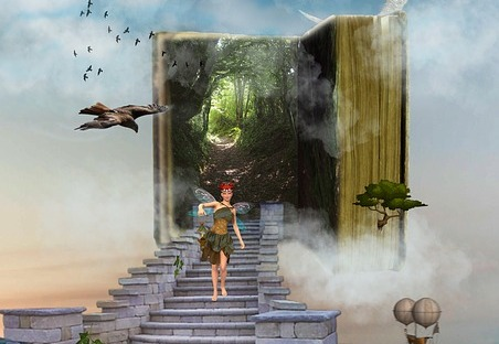 I write fairytales with bite as flash fiction and short stories in particular. Image via Pixabay.