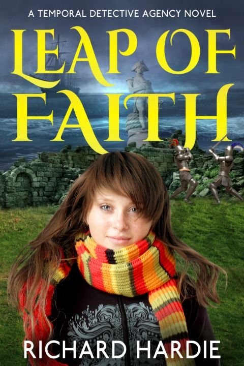 Leap of Faith, Richard's first novel.  Image kindly supplied by Richard Hardie.