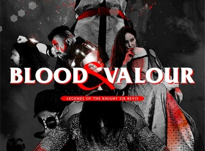 Main Cover - Blood and Valour. Image supplied by Eastleigh Borough Council.