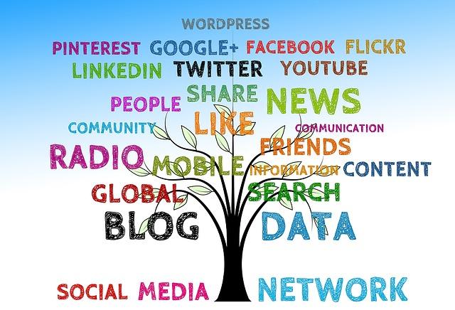 Social Media Tree. Image via Pixabay.