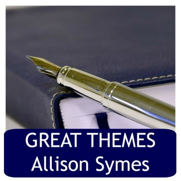 Themes should emerge naturally from your writing though occasionally I pick a theme and write to it. Image via Pixabay. (Also an older CFT post from me).