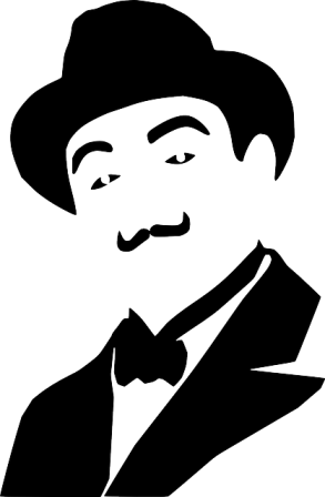 One of my favourite detectives, Hercule Poirot. Image by Pixabay.