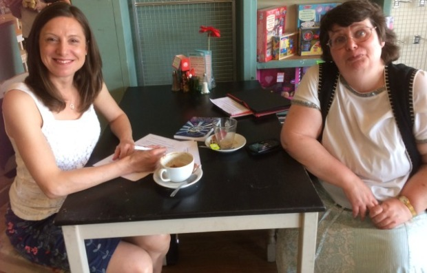 Anne Wan and Allison Symes at Bay Leaves Larder