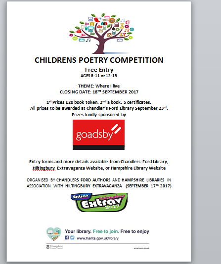 Children's Poetry Competition 2017