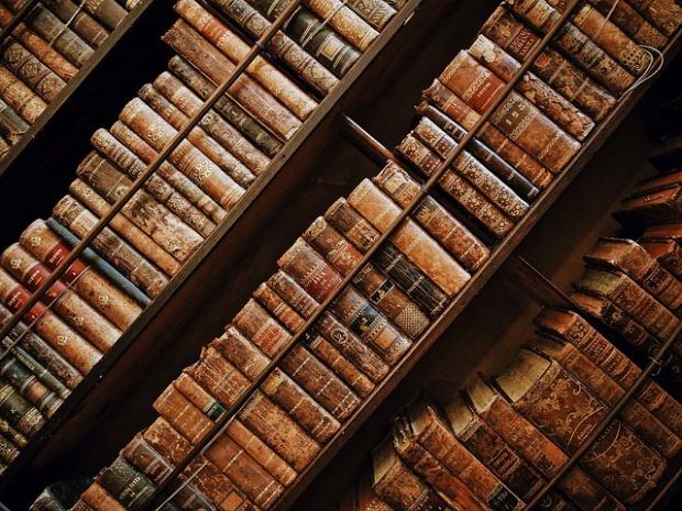 Classic Books - image via Pixabay