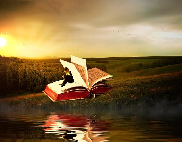 Escape with a good book via Pixabay