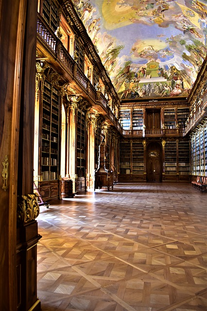 Stunning place in which to read and review - image via Pixabay