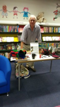 Eastleigh Library - Richard at work