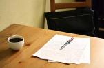 Preparing a talk or a flash fiction story perhaps. Image via Pixabay.