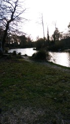 Lovely late autumn day at Hiltingbury Lakes.