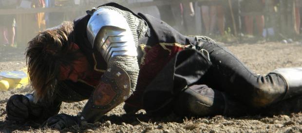 A fallen knight - Richard III was the ultimate one - image via Pixabay