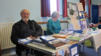 Non-Fiction Corner at the recent Book Fair. Image by Allison Symes (and non-fiction makes for fascinating reading too).