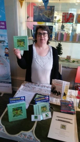Many thanks to Finian Black, children's author, for taking this photo.