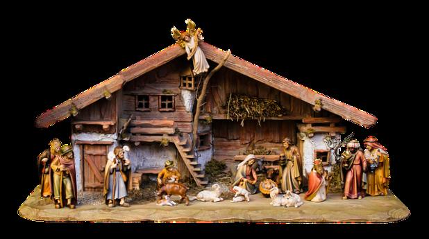 Christmas scene - image via Pixabay