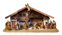 The Nativity scene. Image via Pixabay
