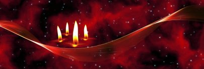 Christmas candles. Image by Pixabay.