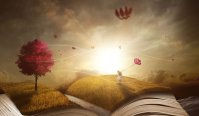 Escape with a good book. Image via Pixabay.