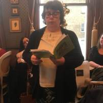 I read three stories from From Light to Dark and Back Again. Many thanks to Dawn Kentish Knox for the picture!