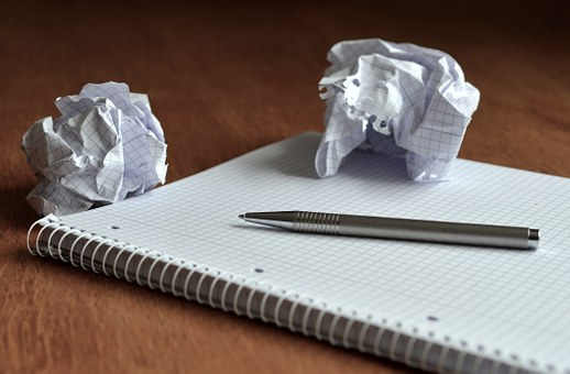 Nobody gets their ideas spot on immediately, image via Pixabay