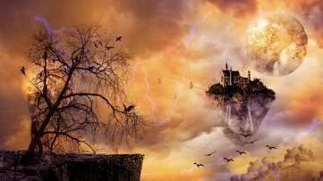 What writing triggers will help you create your new worlds? Image via Pixabay
