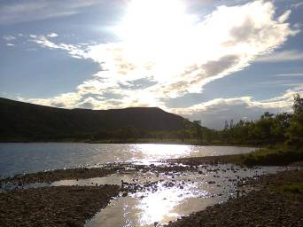 I love walking by water - so calming. Can also inspire how you create your own world. Image by Allison Symes