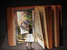 Books invite you into their world. Image via Pixabay
