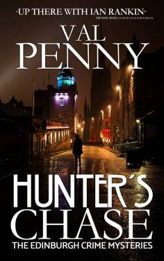 Val's latest crime novel. Image supplied by Val Penny.