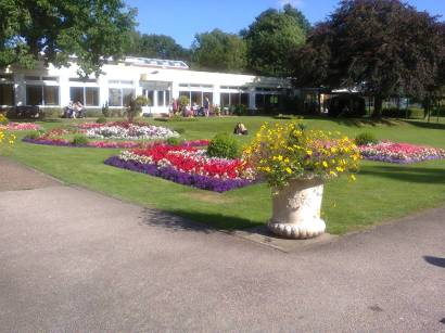Part of the lovely grounds at Swanwick. Image by Allison Symes