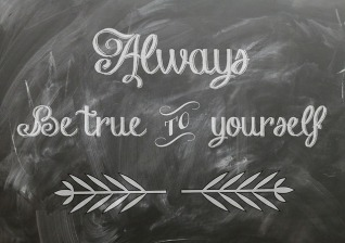 Good advice - and it applies to our characters too. Image via Pixabay