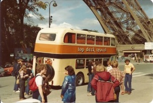 In Paris. Image from Gail Aldwin.