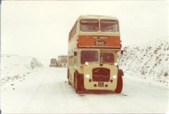 Part of Gail Aldwin's global bus journey. Image from Gail Aldwin