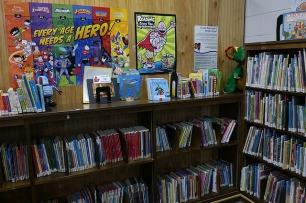 A children's library. Image via Pixabay.