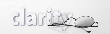 CLARITY POST - Clarity - image via Pixabay