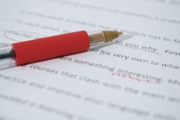 Editing - the crucial part to getting a story right. Image via Pixabay.