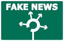 Fake news and roundabouts that are too small make it into my CFT post. Image via Pixabay.