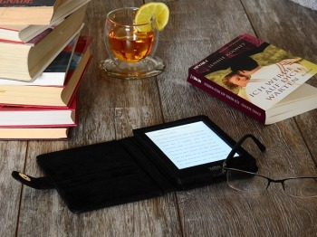 Love both the Kindle and the paperback. Why choose when you can have both? Image via Pixabay