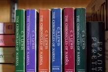 One of my favourite series - Narnia by C.S. Lewis. Image via Pixabay,