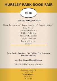 Hursley Park Book Fair flyer. Image kindly supplied by Glenn Salter.
