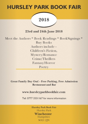 Hursley Park Book Fair flyer. Image kindly supplied by Glenn Salter.