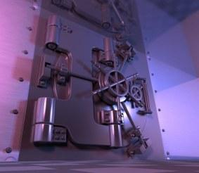 The vault of doom. Image via Pixabay.